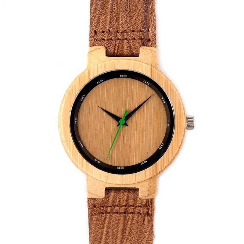 Brand Luxury Ero Fashion Bamboo Wristwatch For Men And Women With Japenese MIYOTA Movement Quartz Antique