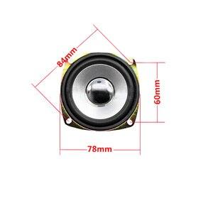 Image 5 - Tenghong 2 pièces 3 pouces gamme complète haut parleurs 4Ohm 10W 78MM carré Portable haut parleur unité pour Home cinéma haut parleurs bricolage