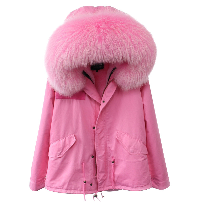 Parkas For Women Winter 2017 Army Green Coat Real Large Raccoon Fur Collar Thicken Cotton Padded Jacket Outerwear Female Brand цены онлайн
