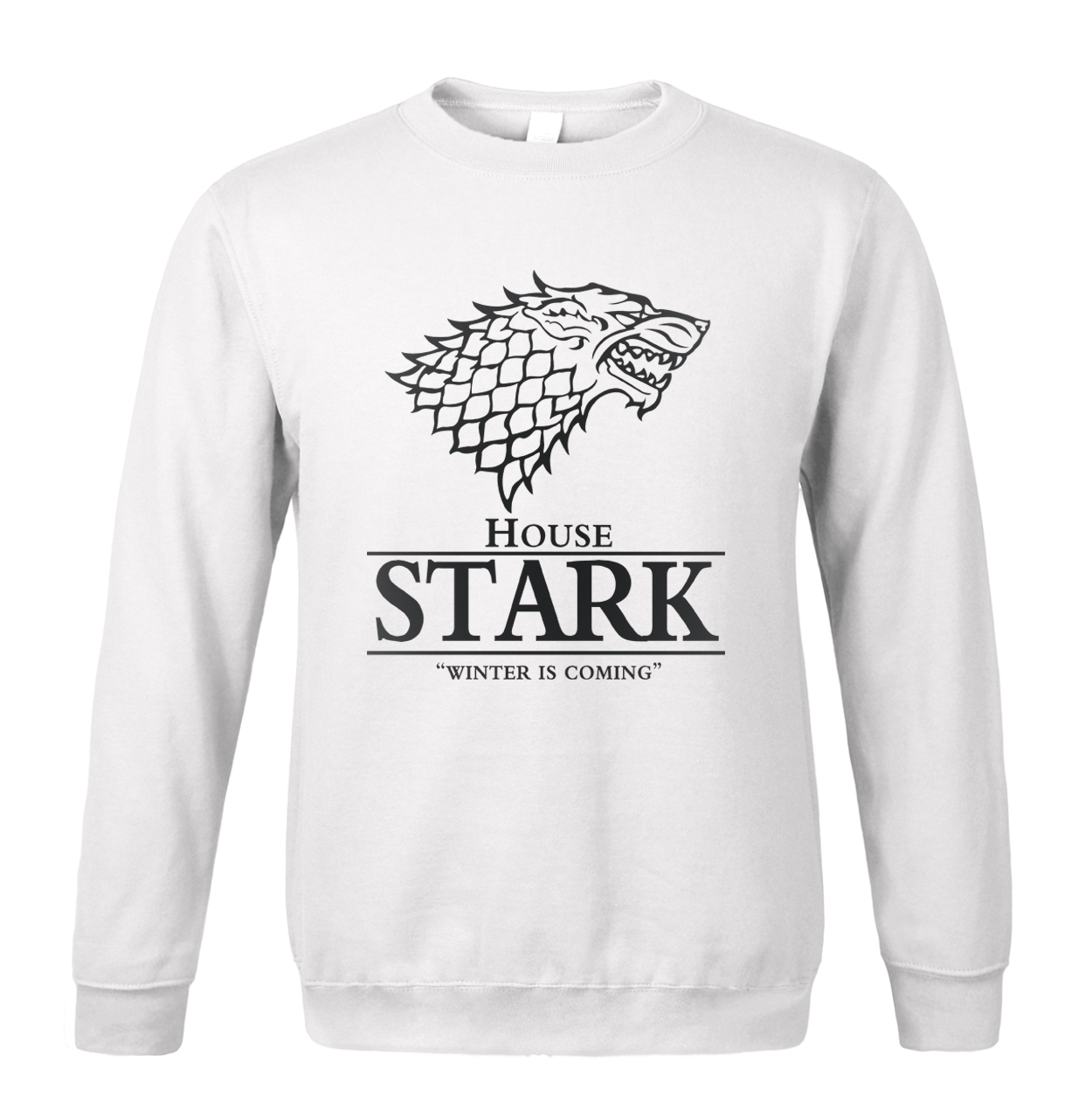 Sweatshirt men 2019 spring winter House Stark print men's sportswear The Song of Ice and Fire Winter Is Coming hoodies harajuku