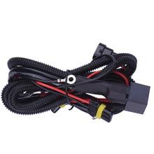 1 комплект 9006/HB4 релейный жгут провода HID ксеноновый светильник контроллер гнездо адаптер вилки лампы кабель проводки конверсионный комплект