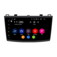 For New Mazda 3 2011 9 Inch Touch Button Android 6 0 1 OS Quad Core