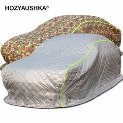 الشتاء سميكة لحاف من القطن لحاف سيارة غطاء سيارة غطاء سيارة الثلج التجمد شتاء بارد دافئ شمال شرق