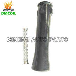 Image 2 - 2 PCS IGNITION COIL RUBBER BOOTS ADAPTER BETWEEN COIL AND SPARK FOR ROVER 360 MG 3 5 GT ZS ZOTYE T600 1.3L 1.5L 1.5T NEC000120A