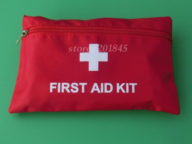 10-1 Saco Kit de Primeiros Socorros Ao Ar Livre Campo de Sobrevivência Auto-ajuda Caixa de Equipamento SOS Para Camping Caminhadas Viu/Conjuntos de Viagem Multi-função de fogo
