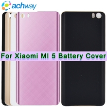 High Quality For Xiaomi Mi 5 Mi5 Back Battery Cover Phone Case Housing Replacement For XIAOMI Mi 5 MI5 Battery Cover Back Glass