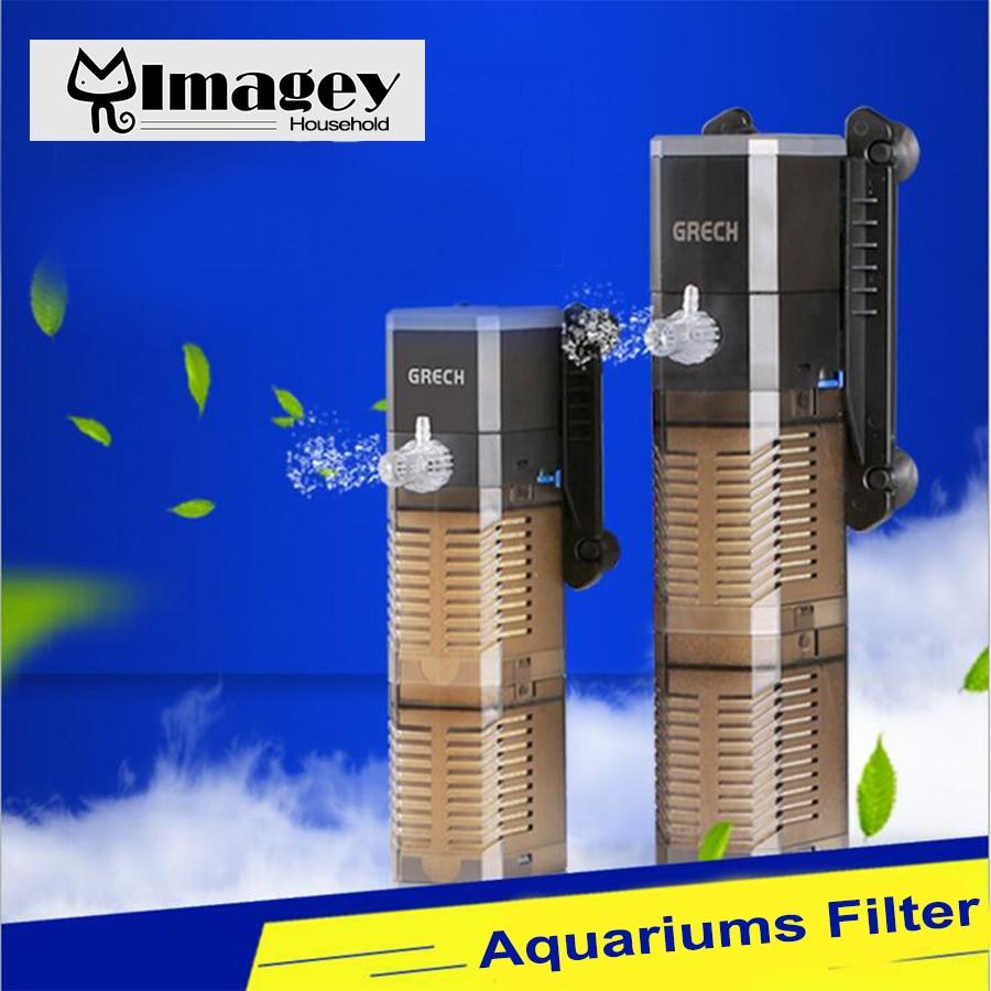 Aquarium fish tank sri lanka - Imagey Multi Power Filter Aquarium Internal Filter Fish Tank Submersible Pump Spray China Mainland