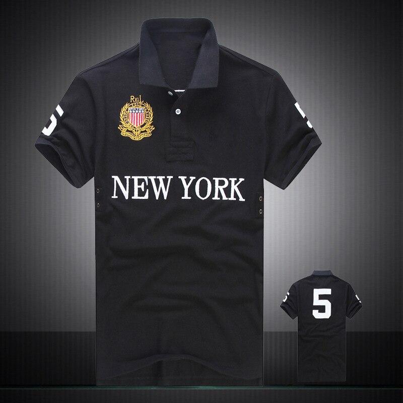 2019 mens   polo   shirt brands 100% cotton Fine embroidery men clothes breathable Man   polo   homme de marque haute qualite