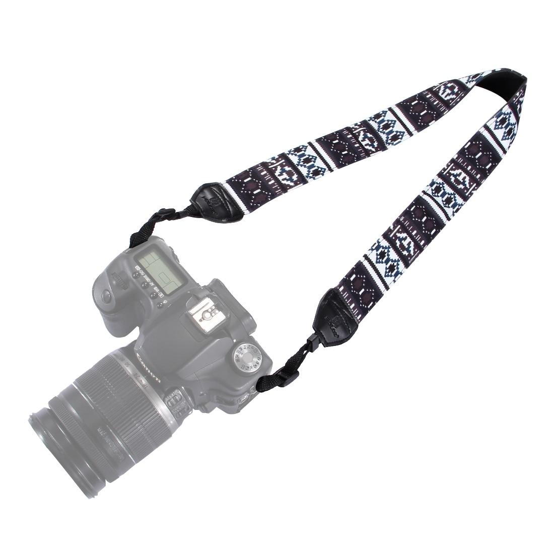 PULUZ PU6007A Retro Ethnic Style Multi-color Series Shoulder Neck Strap Camera Strap for SLR DSLR Camera Photography Accessories