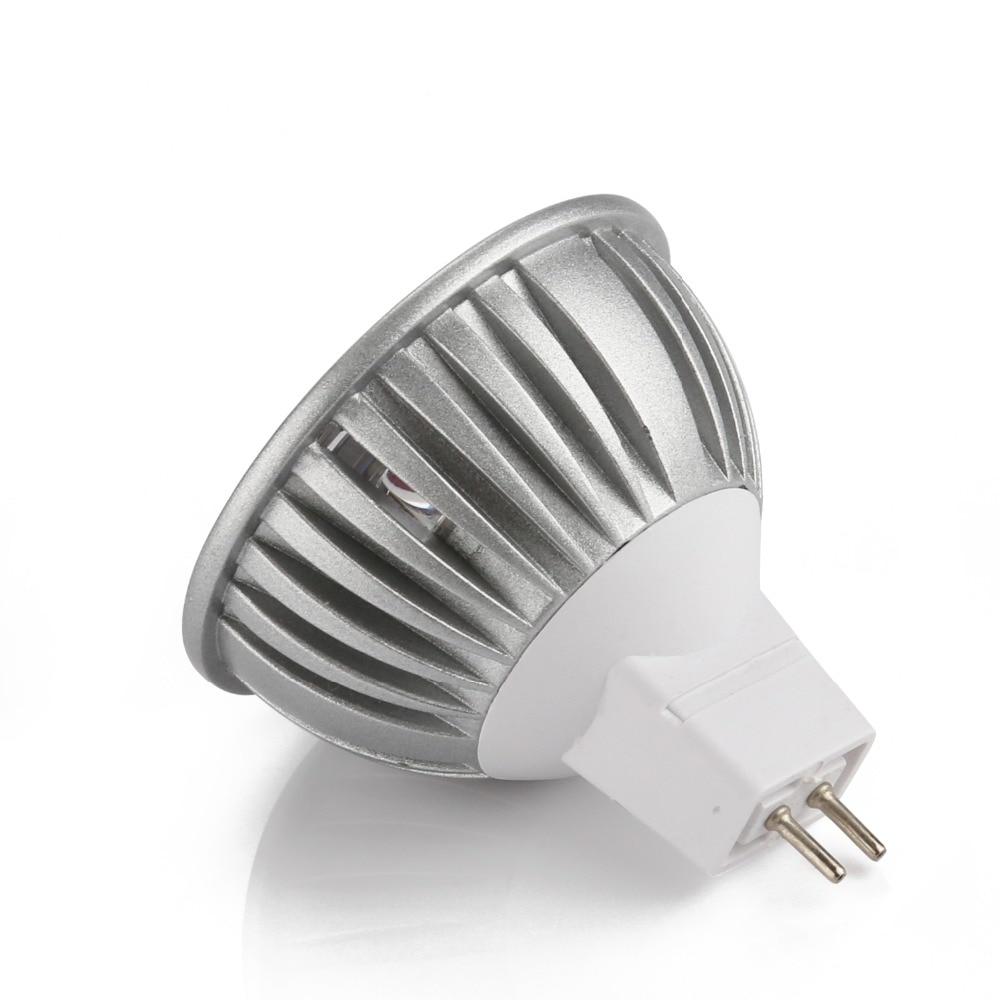 A LED spotlights 100pcs High Power Cool White LED bulb Lamps 3W AC/DC 6V 12V 24V MR16 GU5.3 & Super Bright Lighting luminaire*** 1x p13 5s pr2 pr3 6000k white 4000k warm white 5v 6v 12v 18v 24v maglite led bulb magnum torch flahslight