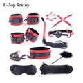 10PCS/Set Bondage Restraints Kit Set Adult Sex Games for Couples Fetish BDSM Sex Products Erotic Restraint Sex Toys for Couples