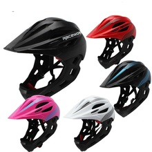 Full Face kids Helmet MTB Mountain Road Bicycle Motocross Downhill Children Cycling Safety Cap