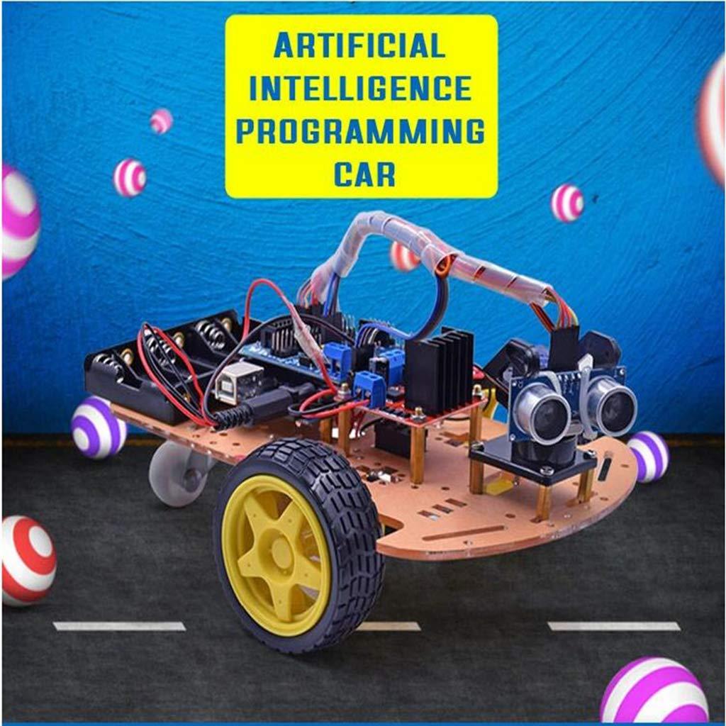 Bricolage L298n 2wd Voiture Kit Mécanique Structure Smart Robot Réservoir Châssis Plate-Forme jouets scientifiques cadeau d'anniversaire pour Enfants Enfants