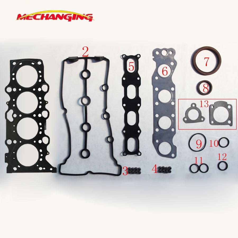 For SUZUKI GRAND VITARA JIMNY CHEVROLET CRUZE 1 3 M13A M16A Full Set Auto Parts Engine