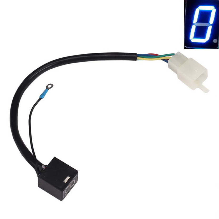 Cls Motorcycle Accessory Blue Led Universal Digital