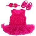 Baby Girl Dress Обувь Ребенка Заставку Набор, Платье Ropa Bebe Menina, Девушка Новорожденный Одежда Набор, младенческой малыш Девушка одежда 2017