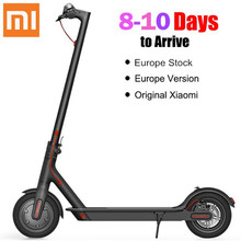 Xiaomi M365 складной самокат в Европе на 2 колеса электрические скутеры 10 дюймов 42 В 250 Вт взрослых складной электрический скейтборд