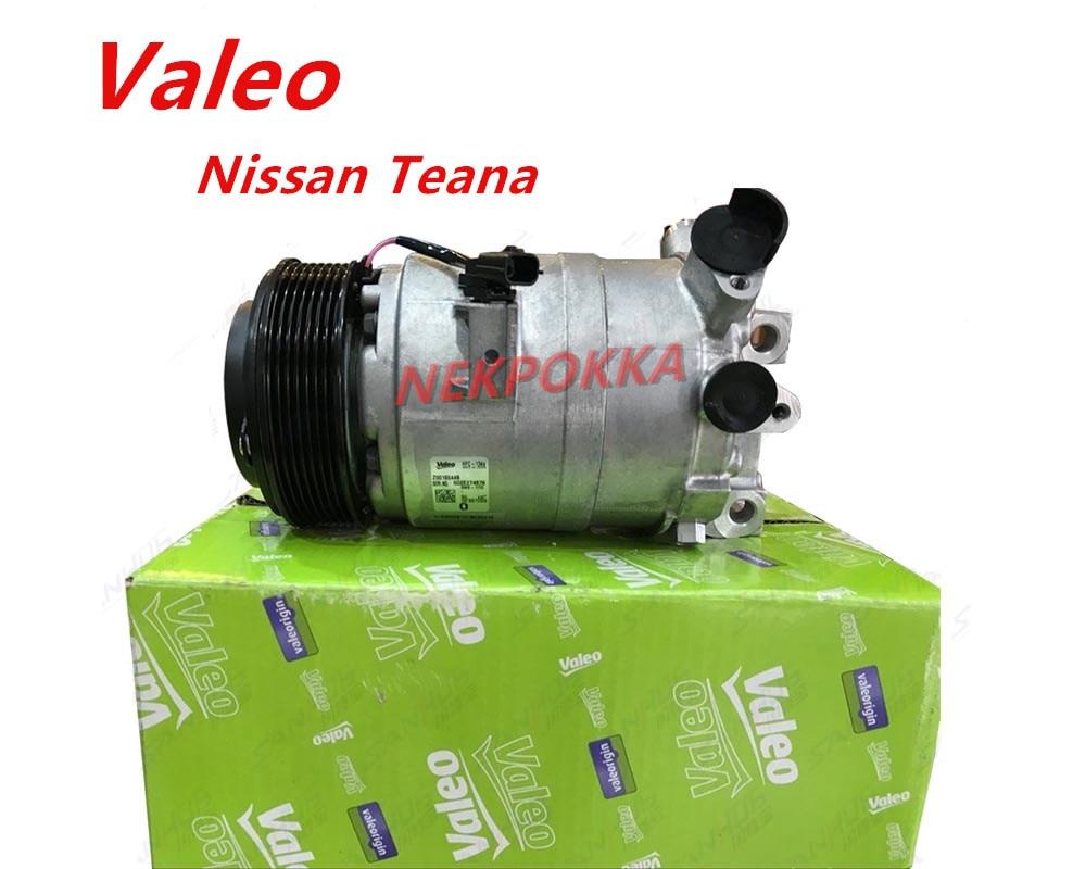 Air-conditioning Installation Valeo Brand Compressor,air Conditioning Compressor For Nissan Teana 2.5,original Compressor