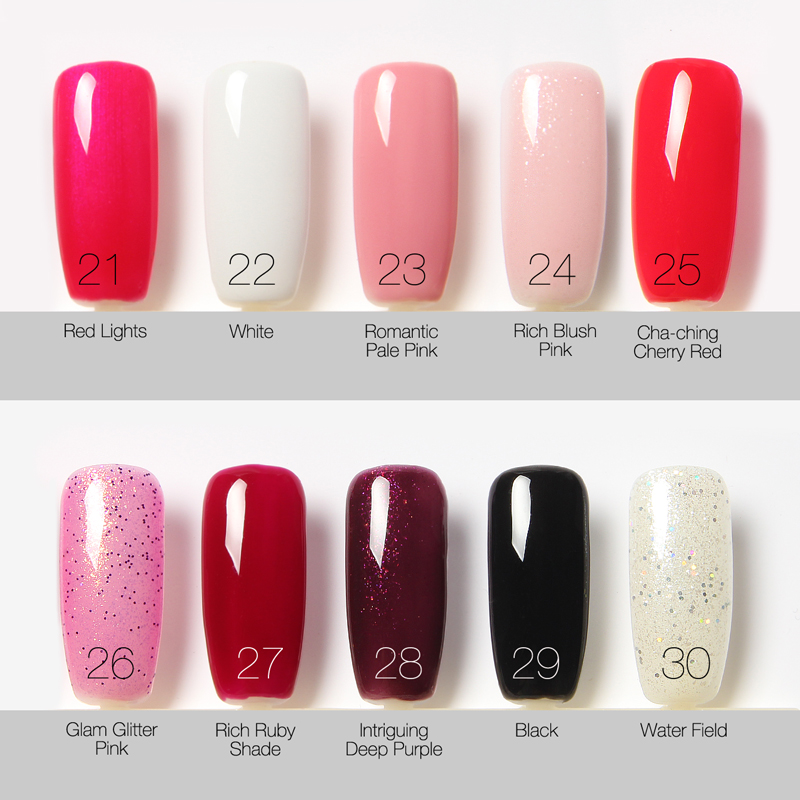 Top Nail Gel Colors - Absolute cycle