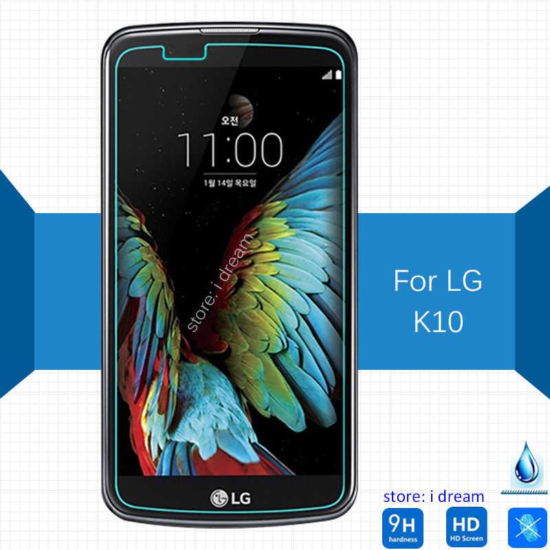 2 шт для Lg K10 Защитная пленка для экрана из закаленного стекла 2,5 9h Защитная пленка для K 10 K410 K420N K430ds K430dsY