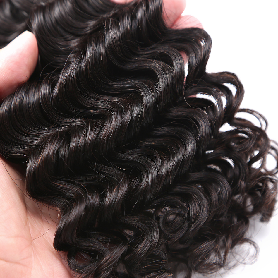 HTB1d8iidjfguuRjSszcq6zb7FXao Luvin Deep Wave 28 30 inch 3 4 Bundles With 5x5 Lace Closure and 13x4 Frontal Brazilian Human Hair Weave Curly Remy Water Wave