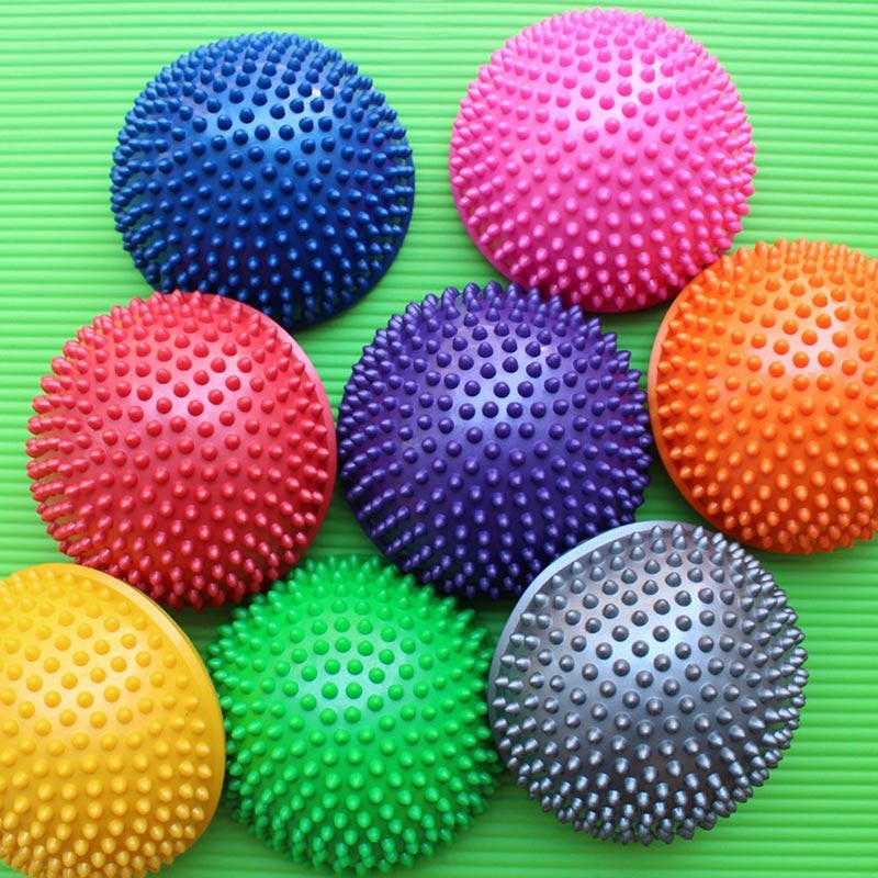 Inflatable Half Sphere Exercise Balls Made with PVC Material for Gym/Yoga 5