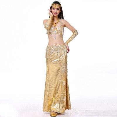 Women Belly Dance costume Newes 2 Pcs Set Bra Skirt bellydance Clothing belly dancing performance dancwear