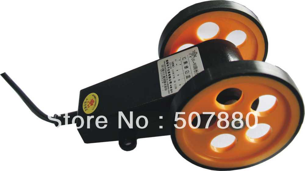 ФОТО LK-90 length measuring wheel (digital meter) double gauge meter encoder wheel