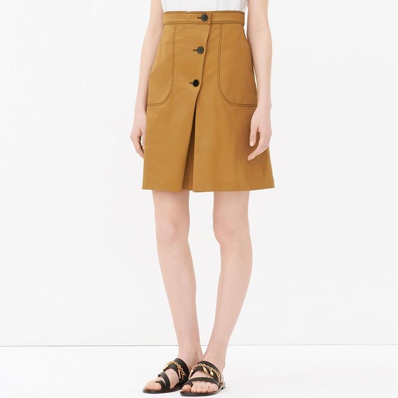 get cheap knee length skirts aliexpress