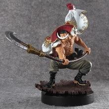 Uma peça figura de ação 1/7 branco barba piratas edward newgate pvc onepiece esculpe a tag equipe anime figura brinquedos japonês