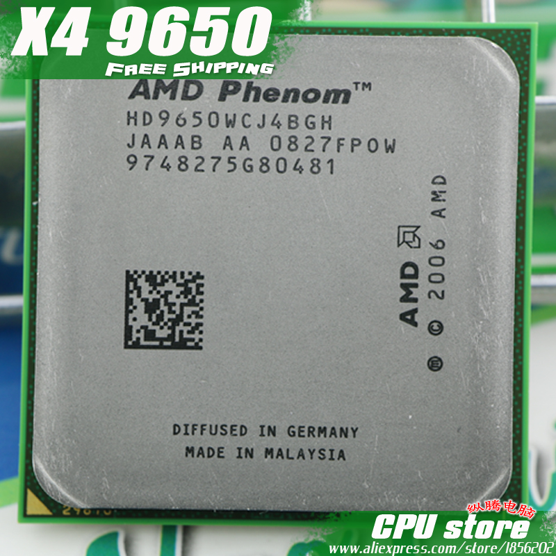 AMD CPU Socket Am2 Processor-Quad-Core 9600 9650 X4 No 940-Pin-There Are-Sell 95w/2000ghz