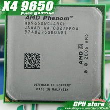 AMD Phenom X4 9650 CPU Processor Quad-CORE (2.3Ghz/ 2M / 95W / 2000GHz) Socket  am2+ free shipping 940 pin,there are, sell 9600
