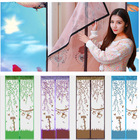 Mesh Screen Net Door With Magnets Anti Mosquito Bug Curtain Useful Home Supply