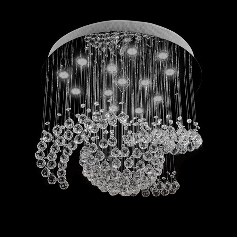New design large crystal chandelier lights dia80h100cm ceiling new design large crystal chandelier lights dia80h100cm ceiling living room lamp in chandeliers from lights lighting on aliexpress alibaba group mozeypictures Image collections