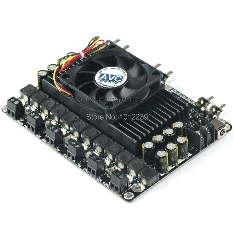 6x100 Watt Class D Audio Amplifier Board - 6x100W TDA7498 Stereo Power Amp 2 x 100 watt 8 ohm class d audio amplifier board irs2092 100w stereo power amp