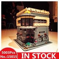 H & HXY в наличии 15015 5003 шт. город улица динозавра музей модель здания Наборы блоки кирпичи Лепин Совместимость DIYToys подарок