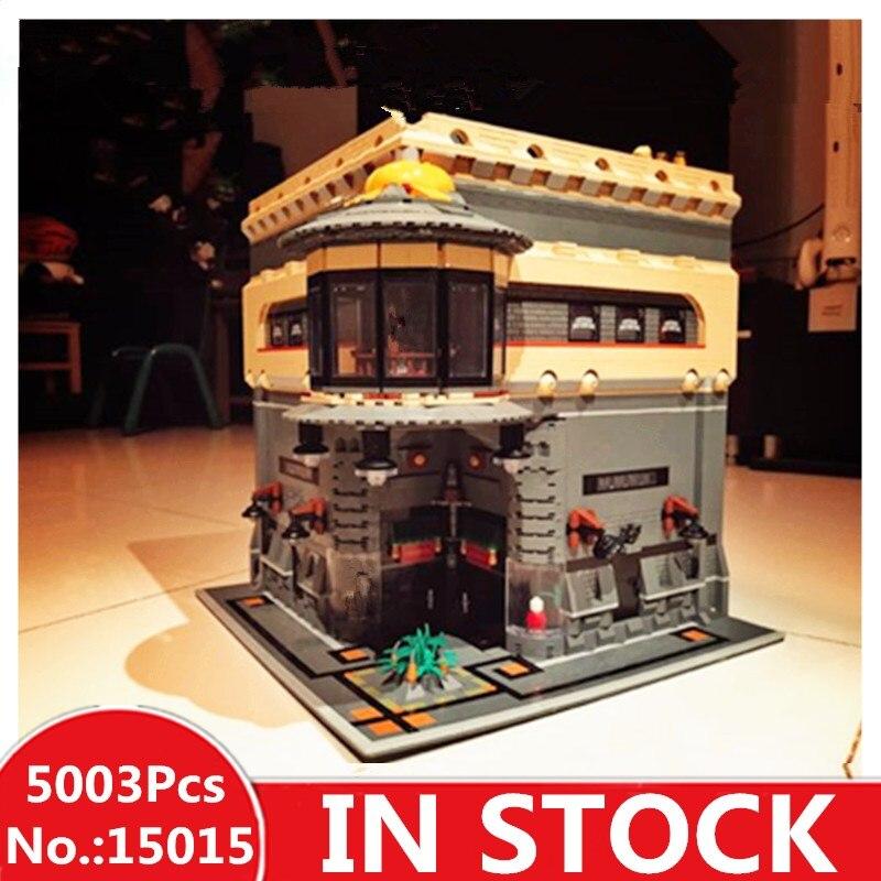 H & HXY EN STOCK 15015 5003 pcs Ville Rue Le Musée des Dinosaures Modèle Kits de Construction Blocs Briques lepin Compatibles DIYToys Cadeau
