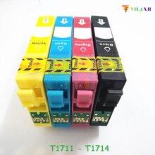 T1711 - T1714 Ink Cartridge For Epson XP33 XP103 XP203 XP207 XP303 XP306 XP403 XP406 XP313 XP413 XP 103 313 xp-207 xp-103 xp-406