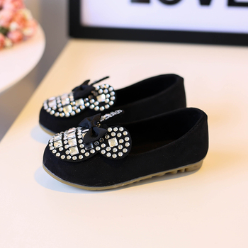 Hot SALE Candy Color Girls Princess Shoes Fashion Designer Kids Sandals Summer Girls Bowknot Single Shoes Size 21-30 1