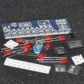 DIY Электронные СВЕТОДИОДНЫЕ Chaser Фары Частотомер Комплект NE555 CD4017 Работает Схема Света Счетчик SMD Электроники Модуль Драйвера