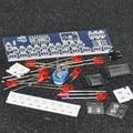 DIY Kit Eletrônico LEVOU Luzes Chaser Contador de Freqüência NE555 CD4017 Luz Correndo Contador de Circuito SMD Motorista Módulo de Música Eletrônica