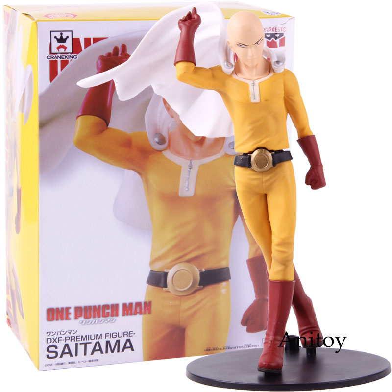 ONE-PUNCH MAN DXF Saitama Premium Pvc Figure Banpresto