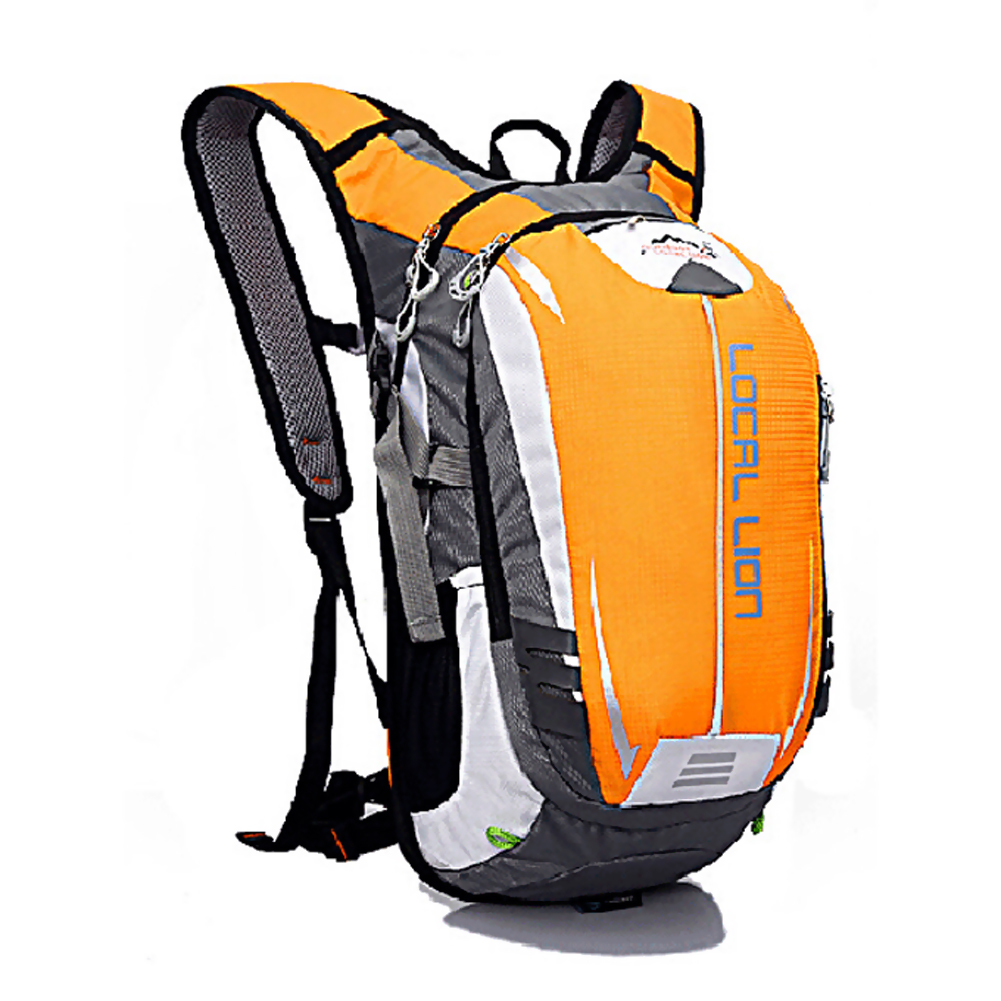LOCAL LION 18L Yellow Waterproof Backpack Ultralight Bicycle Nylon Backpacks Travel Mountaineering Bag