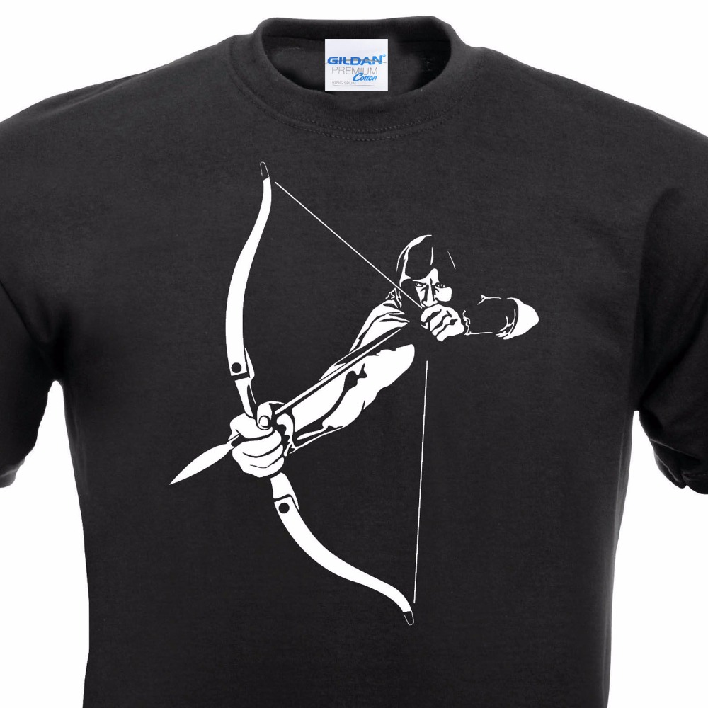 Black t shirt target - Print Casual Summer Casuals Shirts Tee Shirt Arrow Bow Archer Arrow Bow Hunter Rogue Assassin Sagittarius Target Fitness T Shirt