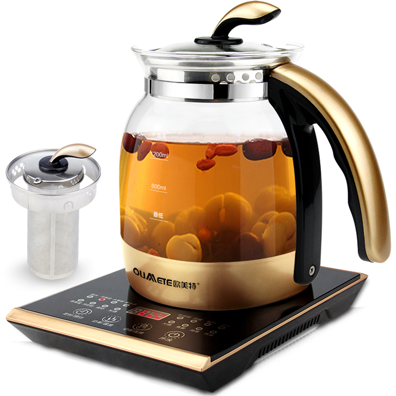 Multi - Function Health Boiling Pot Automatic Thickening of The Glass Teapot Boiling Pot of Boiling Sweet Soup Four Colors homeleader 7 in 1 multi use pressure cooker stainless instant pressure led pot digital electric multicooker slow rice soup fogao