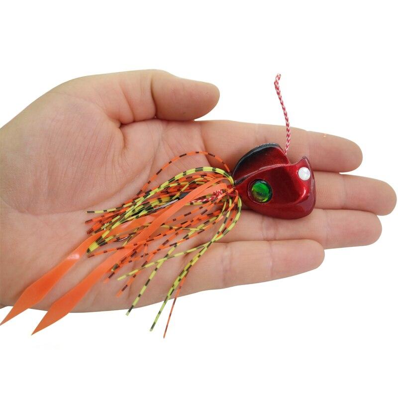 UCOK 1pcs / pack 80g 100g señuelo de pesca doble anzuelo plomo - Pescando - foto 2