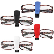Car Auto Sun Visor Glasses Sunglasses Clip Card Ticket Holder Pen Case Box Universal font b