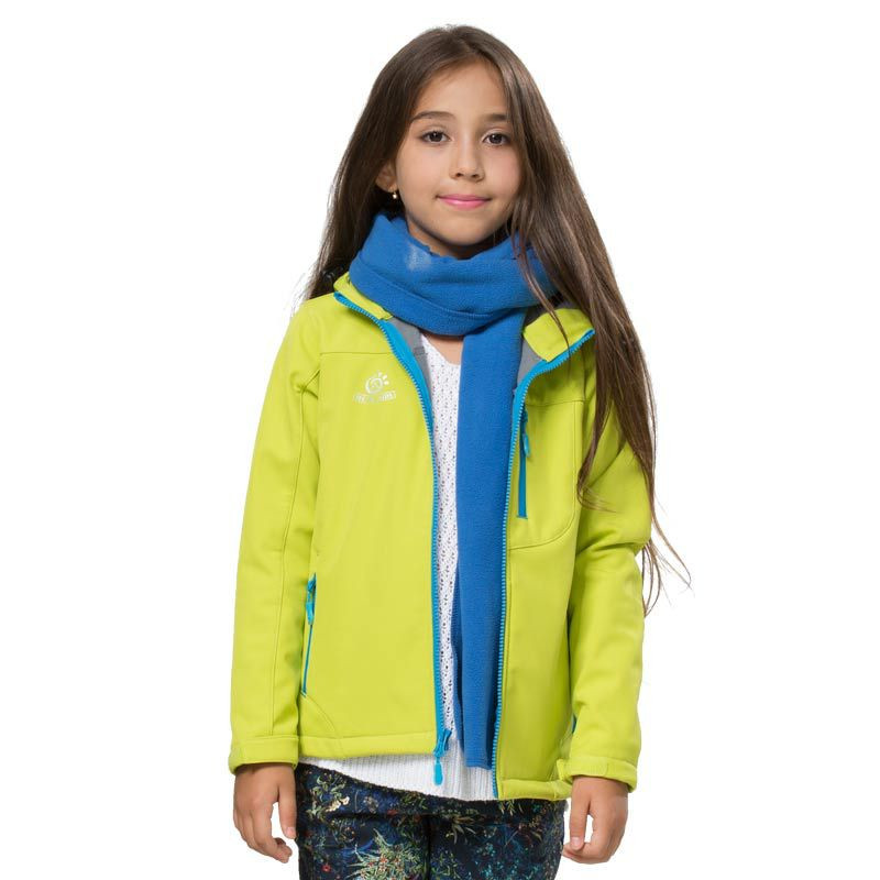 Fleece Jacket Kids | Outdoor Jacket