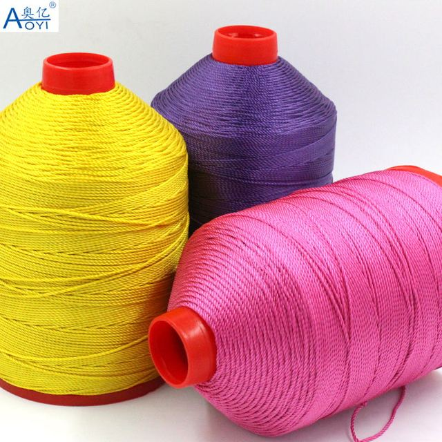 Aoyi Manufacturer Sells 40shares High Strength Sewing Machines Mesmerizing Thick Thread For Sewing Machine