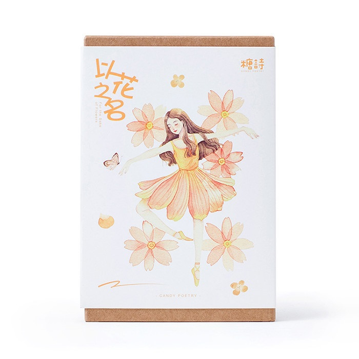 30 Pcs/LOT Beautiful Flower Fairy Postcard /Greeting Card/Wish Card/Christmas And New Year Gifts